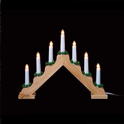 7-Bulb V Shape Candlebridge