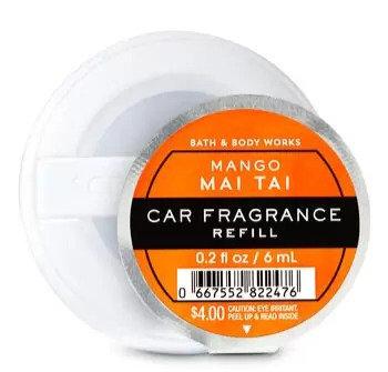 Mango Mai Tai - Car Fragrance Refill