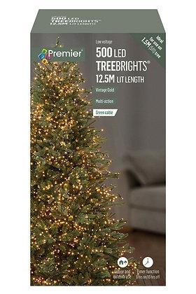 500 TreeBrights Vintage Gold