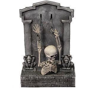 Animated Skeleton Tombstone