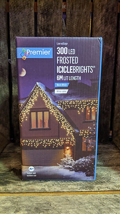 300 Frosted IcicleBrights - Warm White