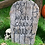 Thumbnail: Wood-Effect Tombstone