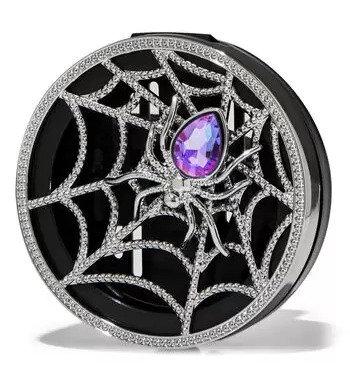 Sparkly Spider Web Vent Clip Car Fragrance Holder