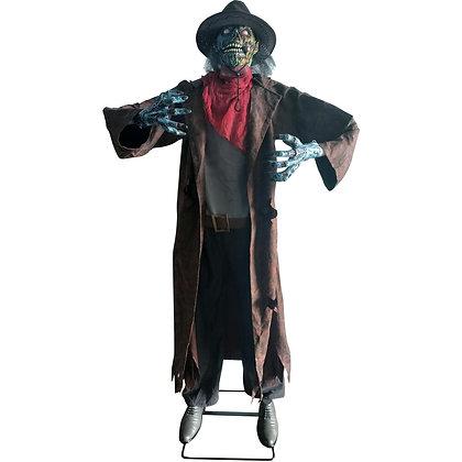 Animated Zombie Cowboy Halloween