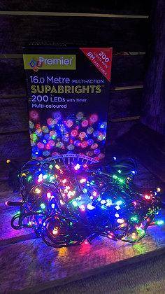 200 Superbrights Multi Coloured