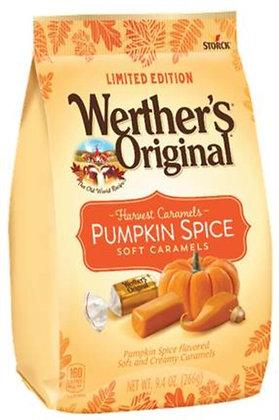 Pumpkin Spice Werther's Original Soft Caramels - 9.4 oz