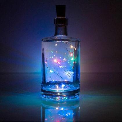 Bottle Stopper Lights - 10 multi coloured LEDs LEDs