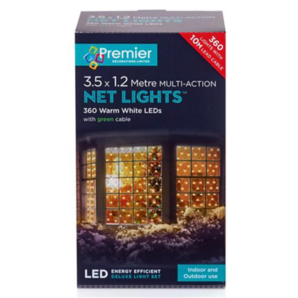 360 LED Warm White Indoor /Outdoor