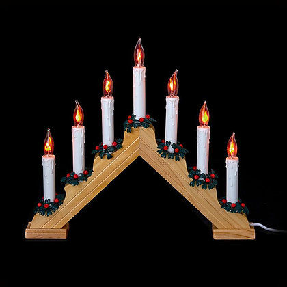 Flickering Bulb Pine Candlebridge