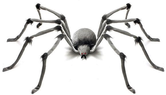 Large 1.2m Grey Spider