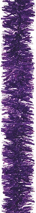 Purple Chunky Tinsel