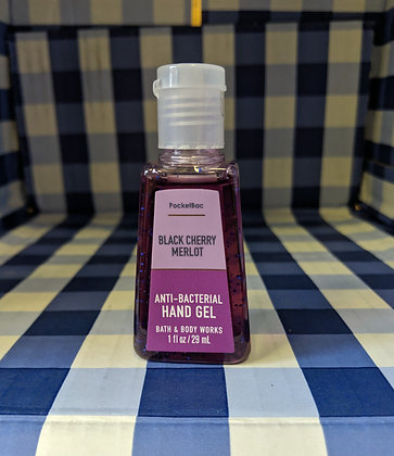 Black Cherry Merlot Pocketbac Hand Sanitiser