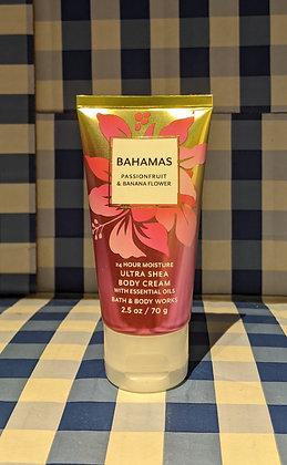 Bahamas Passionfruit & Banana Flower Travel Size Body Cream