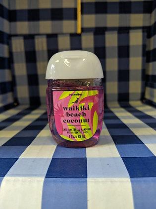 Waikiki Beach Coconut Pocketbac Hand Sanitiser