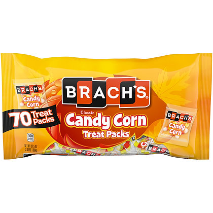 Brach's Classic Halloween Candy Corn Treat Size Bag, 37.5 Oz