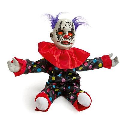 Animated Clown Doll 55cm