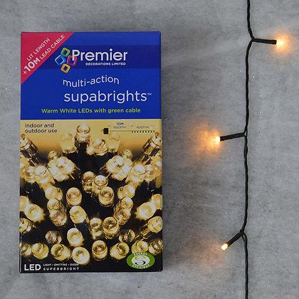 100 Superbrights Warm White