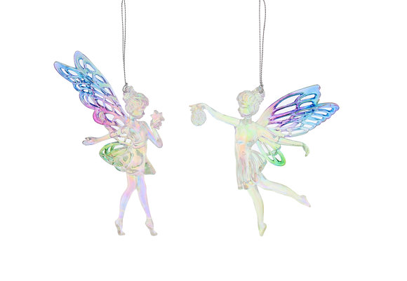 Purple And Green Fairies
