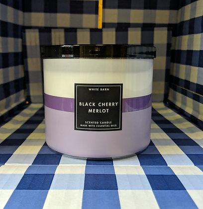 Black Cherry Merlot 3-Wick Candle