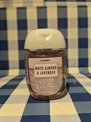 White Almond & Lavender Pocketbac Hand Sanitiser