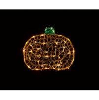 Light Up Pumpkin 2D Soft Acrylic 45cm