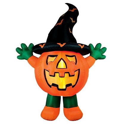 Inflatable Standing Pumpkin Man 3 m Tall