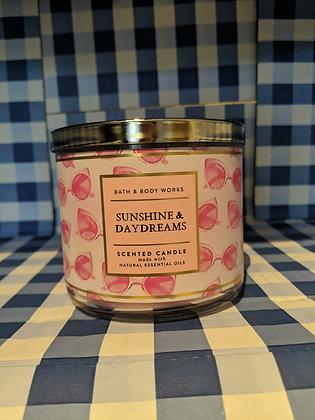 Sunshine & Daydreams 3-Wick Candle