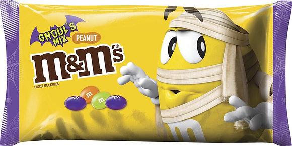 M&M'S Peanut Chocolate Candies Ghoul's Mix - 10 oz