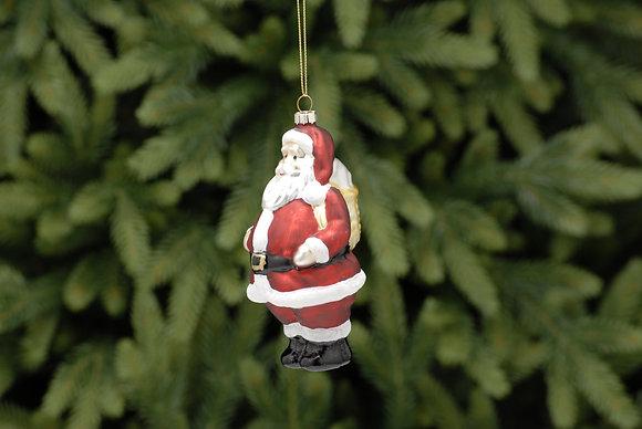 Glass Santa