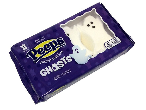 Peeps Marshmallow Monsters - Ghosts