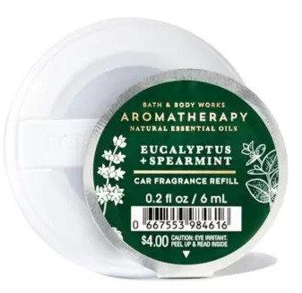 Eucalyptus & Spearmint - Car Fragrance Refill
