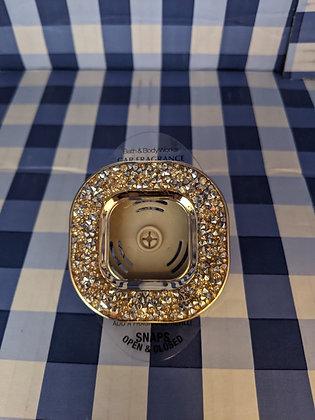 Gold Glitter Vent Clip - Car Fragrance Holder