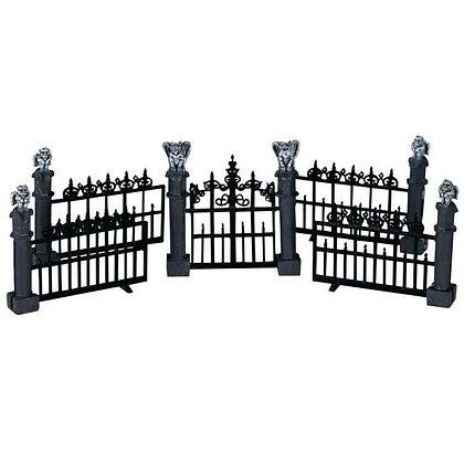 Gargoyle Fence, Set Of 5