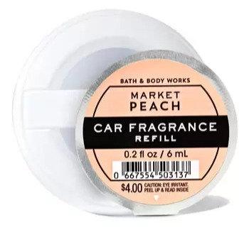 Market Peach - Car Fragrance Refill