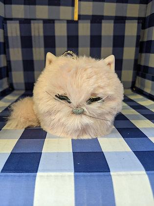 Pink Fluffy Cat PocketBac Holder