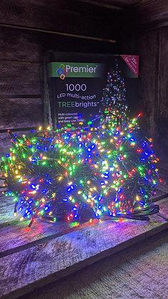 1000 TreeBrights Multi-Coloured