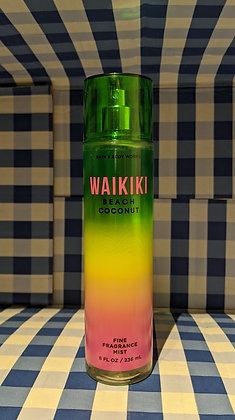 Waikiki Beach Coconut Fine Fragrance Mist