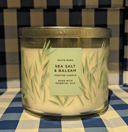 Sea Salt & Balsam 3-Wick Candle