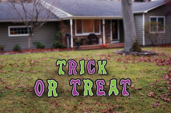 Letter Yard Décor - Trick Or Treat