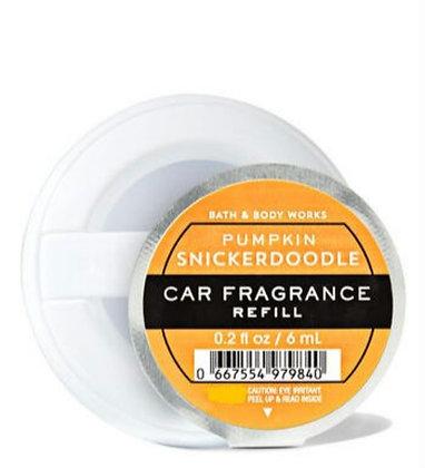 Pumpkin Snickerdoodle Car Fragrance Refill