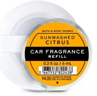 Sun-washed Citrus - Car Fragrance Refill