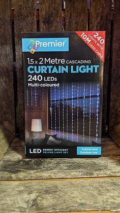 Cascading Curtain Light - Multi-Coloured