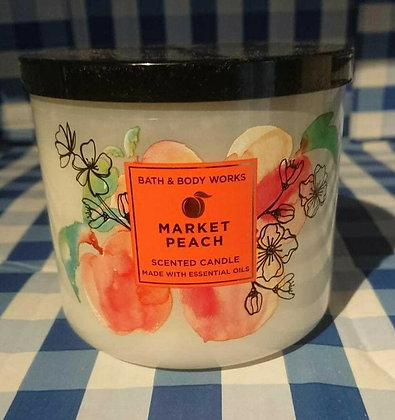 Market Peach 3-Wick Candle
