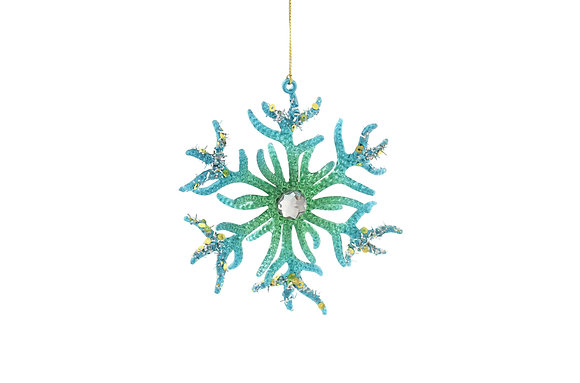 Coral Snowflake