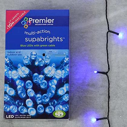 100 Superbrights Blue