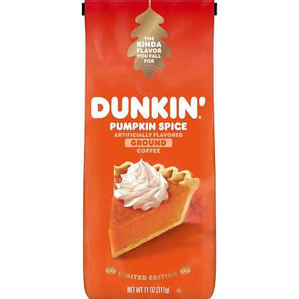 Dunkin' Pumpkin Spice Flavoured Coffee 11 Ounces