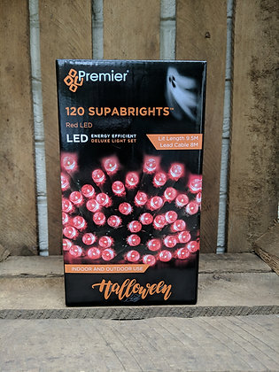 120 LED Red Supabrights