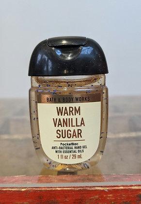 Warm vanilla sugar pocketbac hand sanitiser
