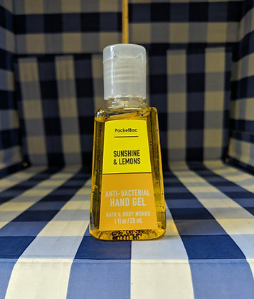 Sunshine And Lemons Pocketbac Hand Sanitiser