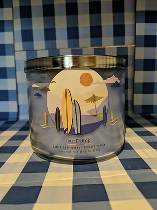 Surf Shop 3-Wick Candle